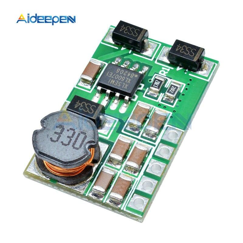 3 V-18 V to+-5V 6V 9V 12V 15V 24V 1.8A 2A положительный и отрицательный двойной Вт конвертер постоянного/переменного тока, повышающий наддува модуль Плата регулятора - Цвет: 15v without pin
