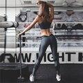 Новый лоскутное леггинсы женщин леггинсы фитнес готический черный цвет длинные брюки уличная женщины тонкий повседневная мода leggin