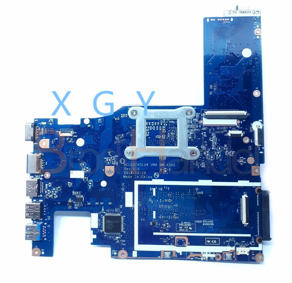 US $220 0 |For Lenovo G50 80 G50 80 Laptop Motherboard ACLU3/ACLU4 NM A362  UMA i7 5500U SR23W 100% Tested ok-in Laptop Motherboard from Computer &