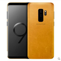 For Samsung galaxy s9 case Genuine leather.Paste 360 degree leather sticker for samsung galaxy s9 plus cover case fundas sitcker