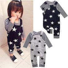 sets boys girls Toddler 2PCS Set Top T-shirt+Bib Pants Jumpsuit Overall Outfits 2016