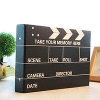 10 дюймов DIY Фотоальбом черные свадебные фотографии детей Семья любителей подарок на день рождения Sticky Тип памяти Запись скрап-альбом