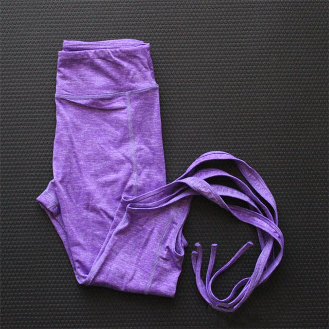 Sexy Pink Yoga pants Ballet Spirit Bandage infinity Turnout Leggings For Women Lavender For Dance  P089
