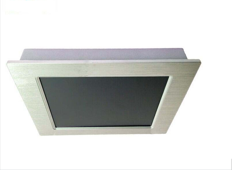 Fanless Industrial Panel Pc All In One 12 Inch Lcd Touch Screen Support Windows Os & Intel Atom N2800 CPU