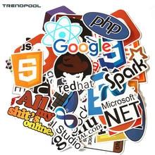 TRENDPOOL 50 Pcs Java Internet JS Php Docker Bitcoin Html