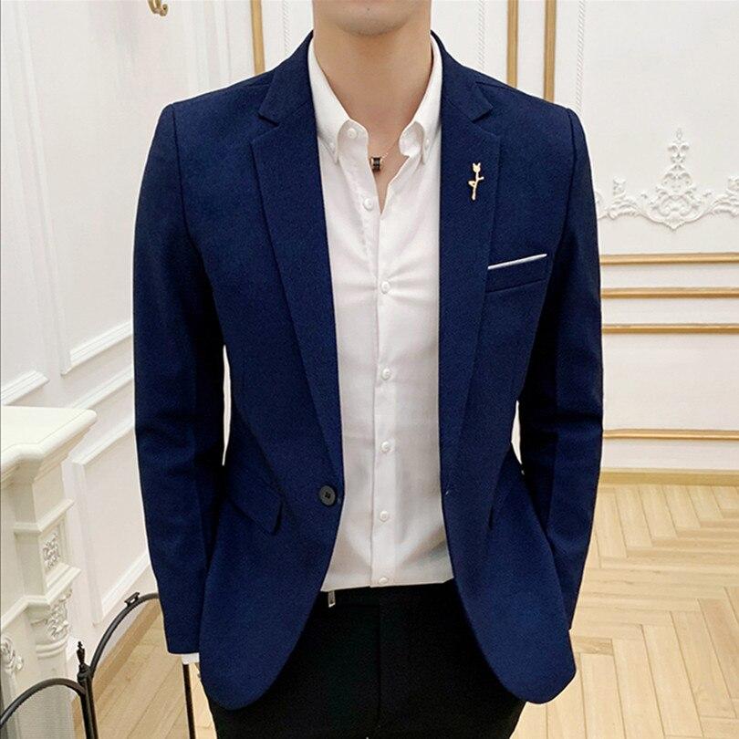 New Formal Suit Men Jacket Business Banquet Party Dress Male Coats Multicolor Choice High-end Mens Suit Jacket Size S  2XL 3XL