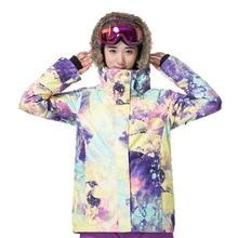 Womens Outdoor Windproof Waterproof Coat Snowboarding Skiing Jackets Winter Warm Snow Snowboard Ski Jacket Women Padded Coats