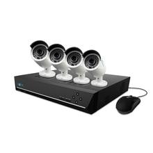 Reolink 8-канальный PoE Ip-камера Системы Безопасности 4MP CCTV PoE NVR DIY Kit 4 IP Безопасности Открытый Водонепроницаемый с 2 ТБ HDD K8-410B4