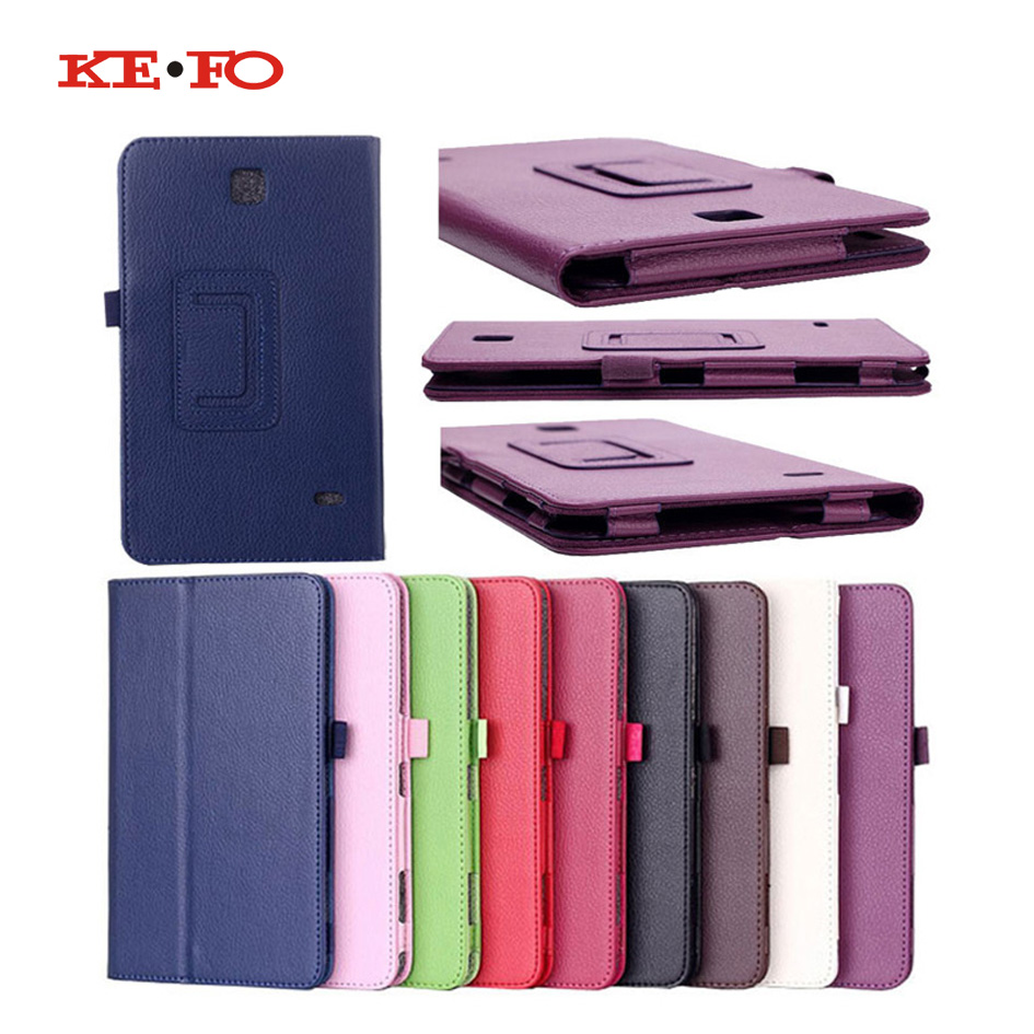 KeFo SM-T230 SM-T231 Case For Samsung Galaxy Tab 4 7.0 inch T230 T231 T235 Flip PU Leather Case For Tab 4 7.0 SM-T230 Cover