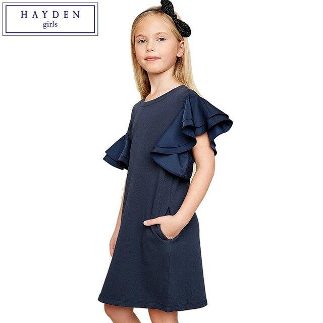 4d993771e HAYDEN Girls Bell Sleeve Dress Summer 2018 New Arrival Teenage Girls ...
