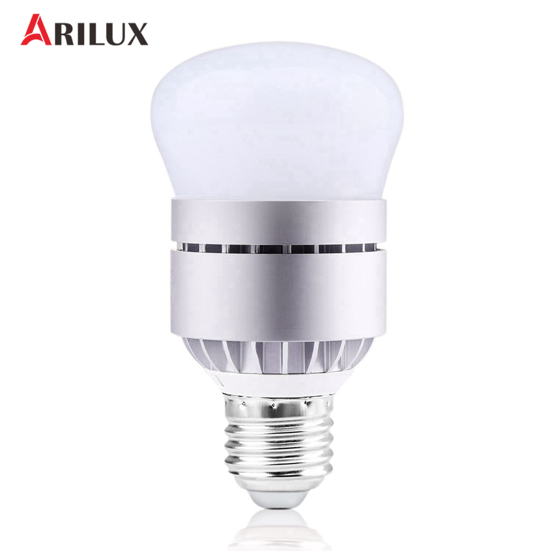 ARILUX E27/B22 7W LED Light Bulb 600LM Light Photocell Sensor LED Light Lamp White/Warm White For Patio Garage IC AC85-265V ivories повседневные брюки