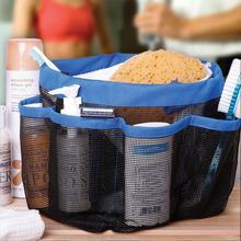 Mesh 8 Pocket Portable Shower Caddy Oxford Cloth Storage Box Newest  Multifunctional Bath Caddy,hand