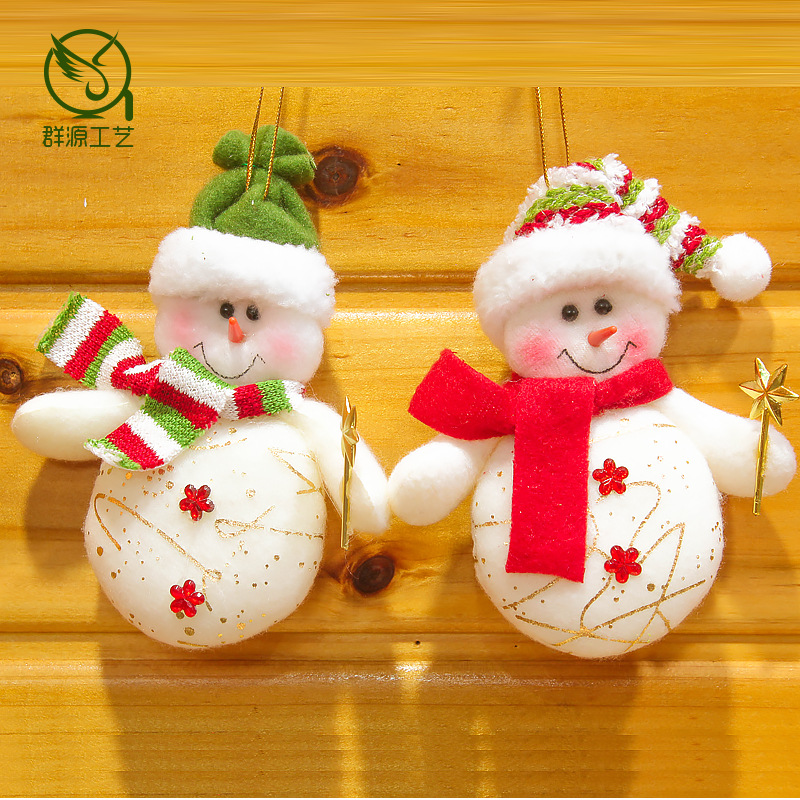 christmas decoration ideas 2016 christmas snowman small gift market promotion activity 10565