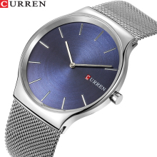 TOP Luxury Brand CURREN Fashion Business Men Watches Ultra-t