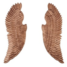 Oversize 130cm(51″) Tall Angel Wings / Gothic Wall Decor / Pairs of Wing Made of Iron