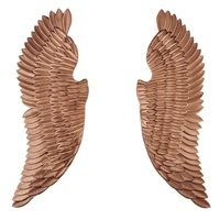 Oversize 130cm(51) Tall Angel Wings / Gothic Wall Decor / Pairs of Wing Made of Iron
