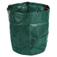 270L Garten Abfall Tasche Große Starke Wasserdichte Heavy Duty Reusable Faltbare Müll Gras Sack-in Abfallbehälter aus Heim und Garten bei
