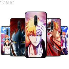 Bleach Comic Anime Cartoon Silicone Case for Oneplus 7 7Pro 5T 6 6T Black Soft Case for Oneplus 7 7 Pro TPU Phone Cover