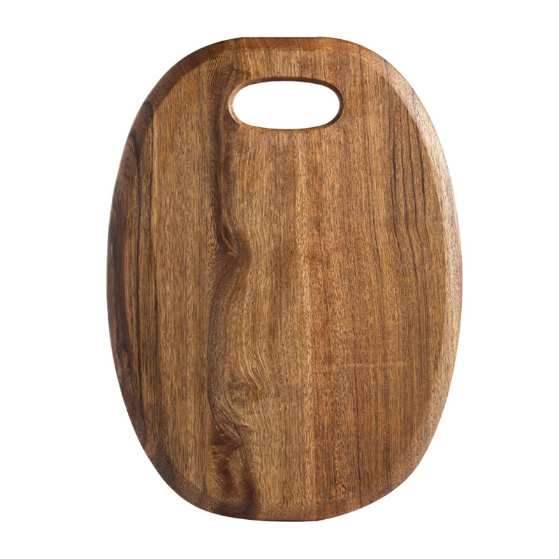 1Pc Kitchen Cutting Board Wood Chopping Blocks Food Serving Plate Wooden Sushi Pizza Bread Tray Wood Cutting Board Kitchen Tools (6)