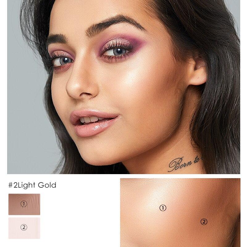 FOCALLURE 2 in 13D Bronzer Highlighter Gesicht Make-Up Concealer Foundation Stick Creme Textur Kontur Die luxus Qualität