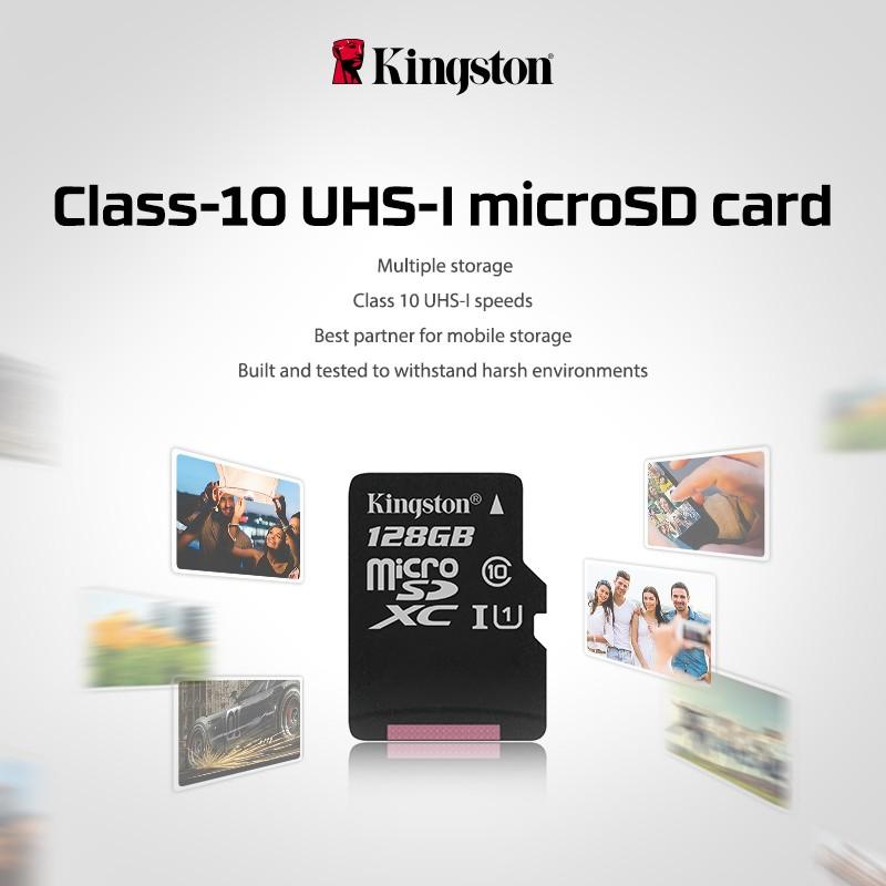 Kingston Class 10 TF 8gb 16gb 32gb 64gb 128gb memory card SDHC SDXC micro sd card 16g 32g 64g 128g microsd microSDHC UHS-I 15