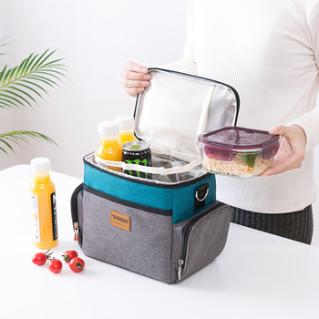 New fashion large capacity lunch b