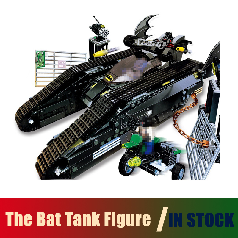 Compatible Lego batman Models Building Toy super heroes The Bat Tank Figure 673pcs 07067 Building Blocks Toys & Hobbies