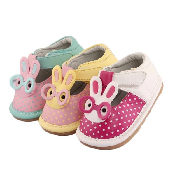 Cómoda del niño del bebé de la alta calidad de dibujos animados lindo bebé niños zapatos de la princesa suave suela plana casual shoes primeros caminante