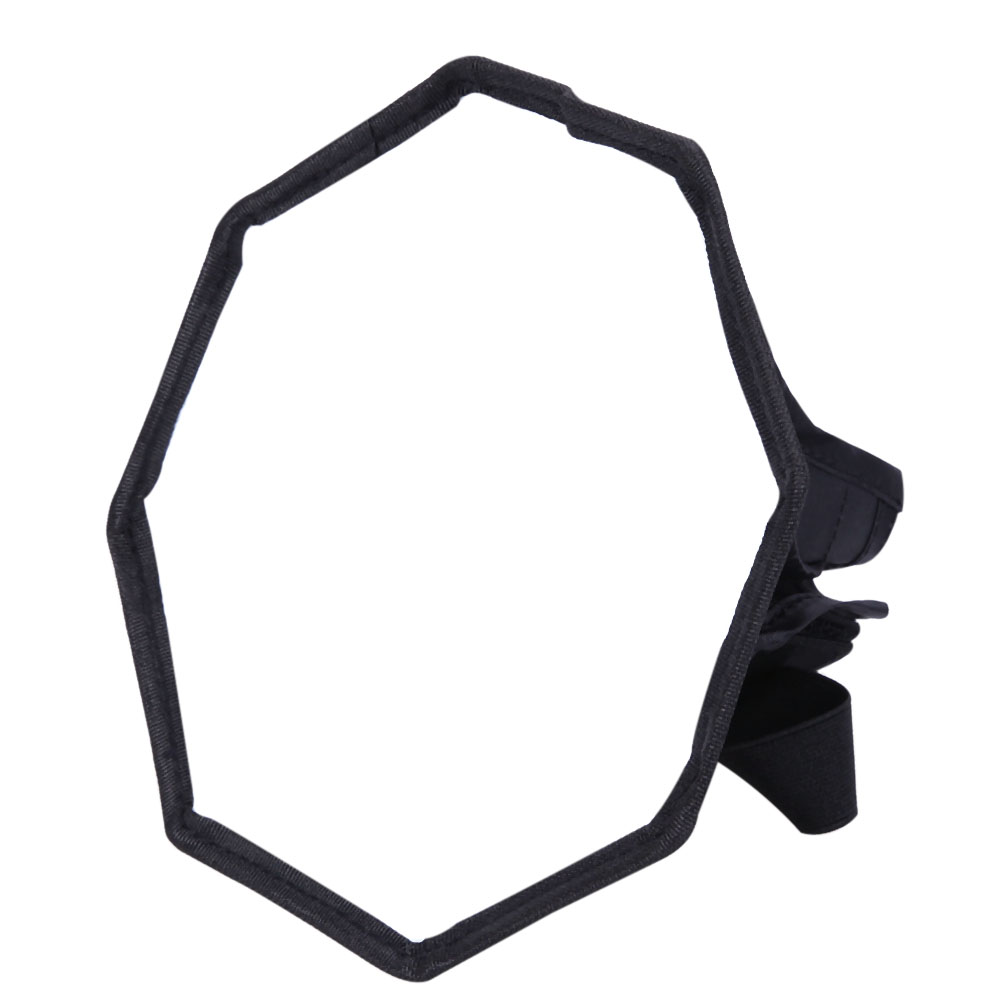 30cm/11.8 Foldable Octagon Flash Speedlite Softbox Diffuser Photo Studio Accessories for Canon Nikon Sony flash diffuser for sony hvl f58am white