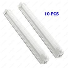 10Pcs 20W LED Integrated Light Tube 108leds T8 Lamp Bar 2FT/60cm SMD 2835 Wholesale Clear/Milky White cover