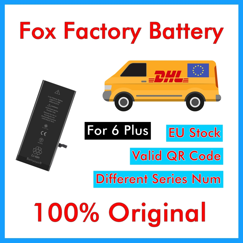 Foxc iPhone 6 Battery-Battery Replacement-Repair 6-Plus DHL for 6P 6P