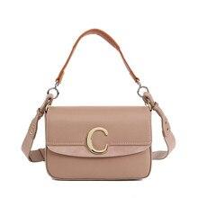 Genuine Leather Women Bag Crossbody Bag,Luxury Handbags Bags Designer Ring C Metal Handbag Khaki Messenger