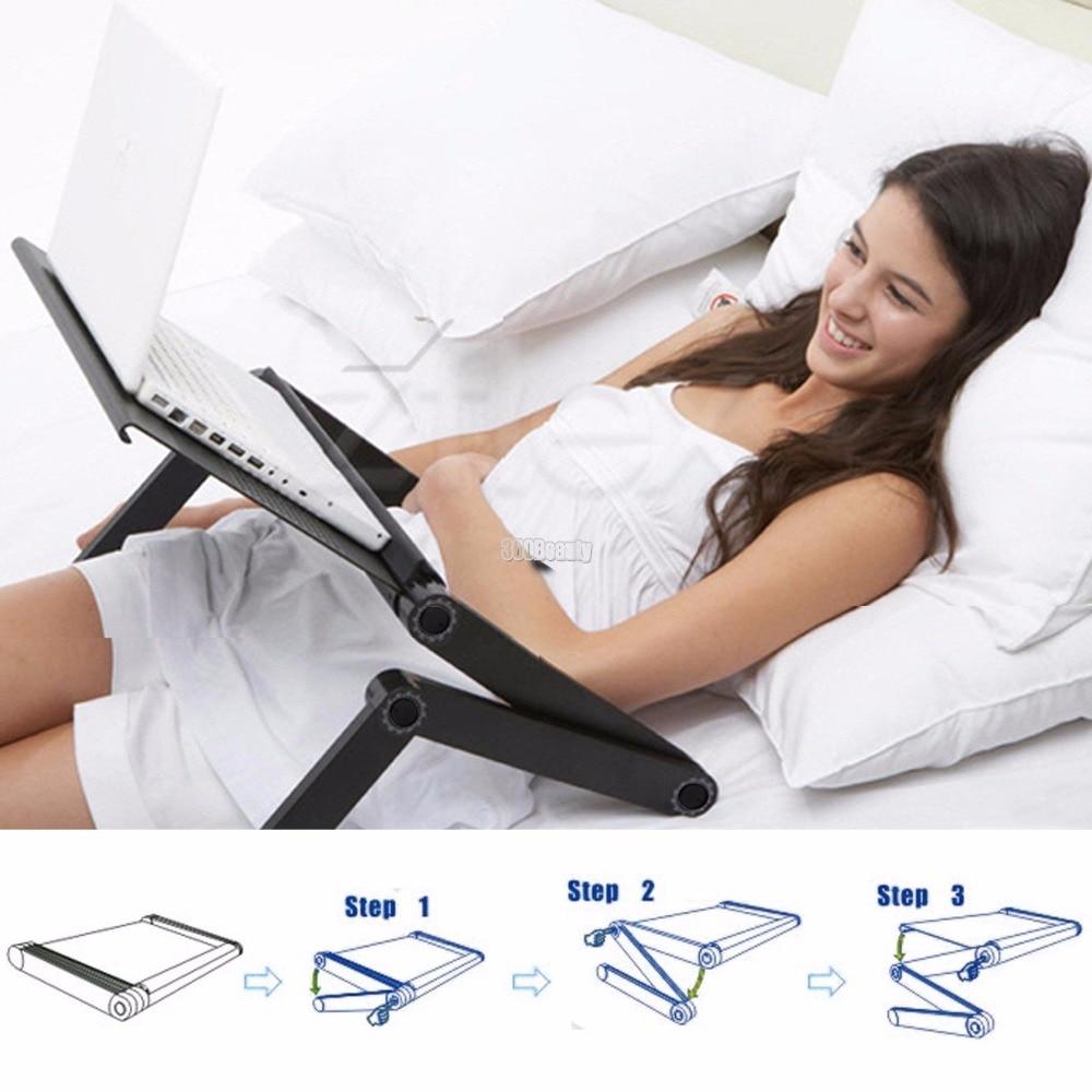 HomdoxHot Sale Laptop Desks Portable Adjustable Foldable Computer desk 3