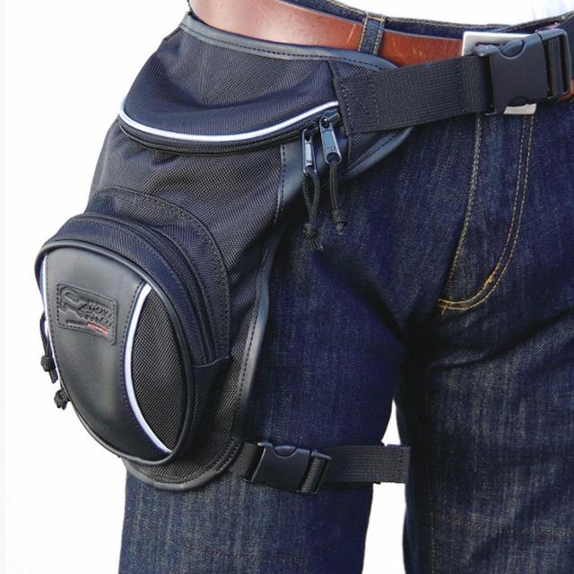 Qualidade superior Homens Oxford Saco Da Cintura Perna Fanny Masculino Passeio de Moto À Prova D' Água Cinto de Designer de Marca Famosa de Assalto Pacote de Hip Bum