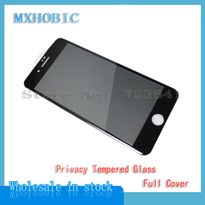 Image 3 - 5pcs Full Cover Privacy Tempered Glass For iPhone X XS Max XR 6 6S 7 8 Plus Anti Spy Screen Protector Anti spy Protective Film