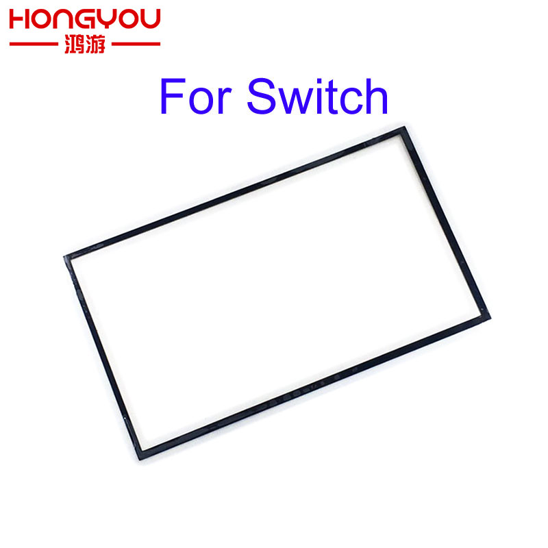 5PCS Replacement Part LCD Screen Touch Screen Dust Proof Sponge Rubber Mat Frame For Nintendo NS Switch Handheld Console