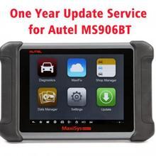 AUTEL MaxiSYS MS906BT автоматический диагностический сканер один год обслуживания обновления