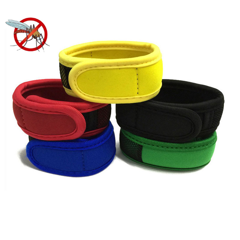 Mosquito Repellent Bracelets With 2 Refill Pellets Repellent Band Mosquito Killer Outdoor Insect Bracelet Wrist Band