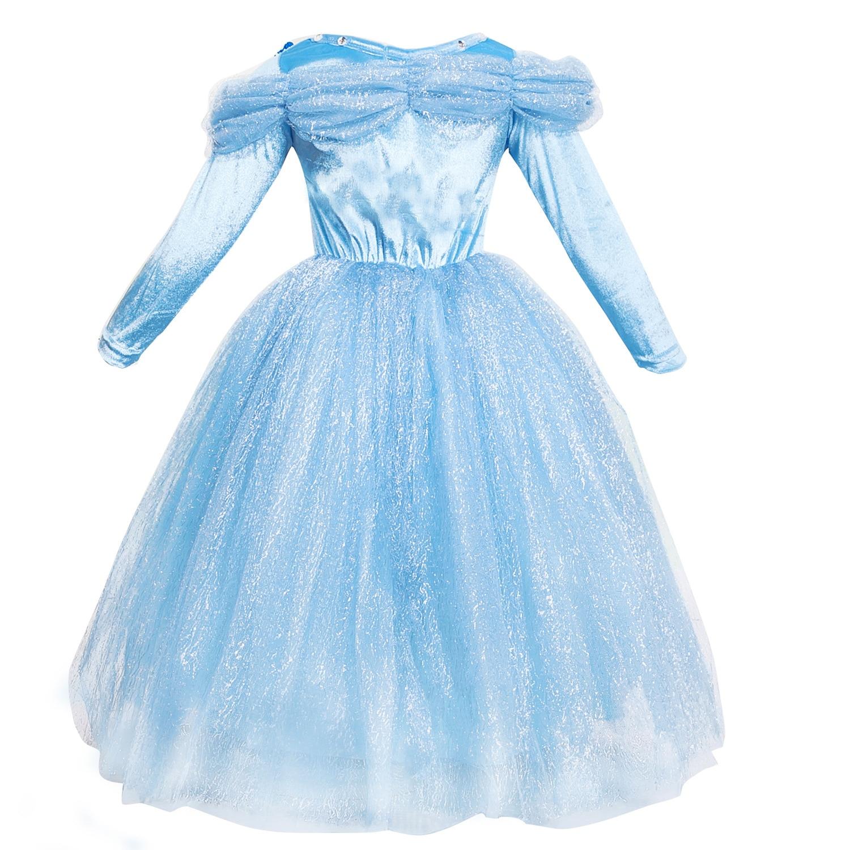 fazer dower bebê fantasia crianças vestidos bela adormecida cosplay