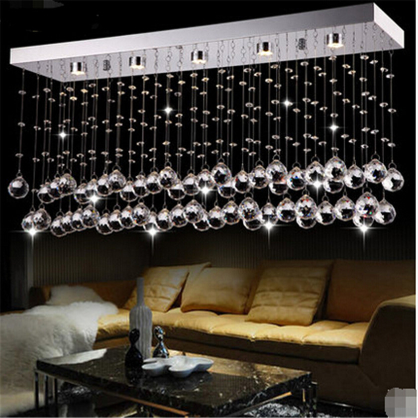 Modern Crystal Ceiling Lights Luminarias para sala Plafon Led Ceiling Lamp Fixtures Lamparas for Home Lighting