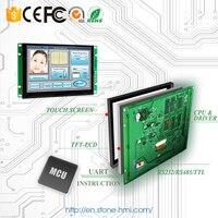 5,6 pulgadas integrado resistiva pantalla táctil con UART serie de interfaz para la industrial HMI de Control