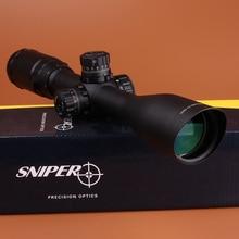 """SNIPER 3-9X40 1 """"Full Size Tácticos Óptica Caza de RifleScope Sight Mil-dot Bloqueo Reposición con Picatinny Weaver Anillos"""