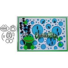 Frog Duck Animal Metal Cutting Dies for Scrapbooking Paper Craft Embossing Die Card Making Stencils New 2019