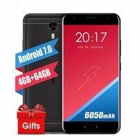 Original Ulefone Power 2 Mobile Phone 5 5 MT6750T Octa Core Android 7 0 4GB 64GB