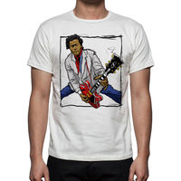 Newest 2017 Fashion Stranger Things T Shirt Men Music Men S Chuck Berry Tribute T Shirt