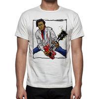 Newest 2017 Fashion Stranger Things T Shirt Men Music Men S Chuck Berry Tribute T Shirt