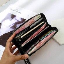 Dlhá peňaženka HOLOGRAFICKÁ krátka peňaženka