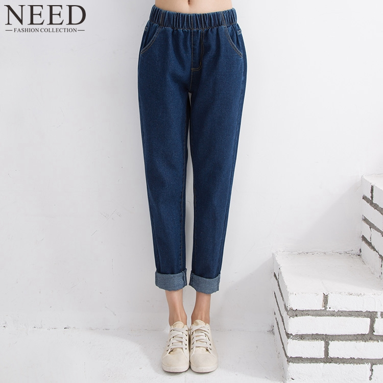 Popular Stretch Denim Capris Elastic Waist-Buy Cheap Stretch Denim ...