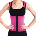 New Fashion Waist Cincher Corset Sweat Enhancing Thermal Vest Neoprene Waist Trainer Hot Body Shaper Sauna Shirt