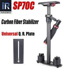 цена на SP70C Professional Portable Carbon Fiber Mini Handheld Camera Stabilizer DSLR Camcorder Video Steadicam Better than S60T